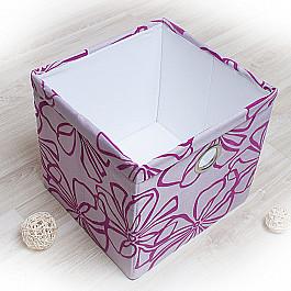 Кофры для хранения вещей Декоративная корзинка Доротея-6, большая, сиреневый корзинка для хранения garden rattan