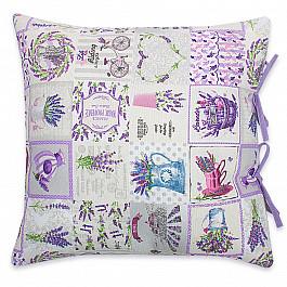Декоративная подушка Нивасан Декоративная подушка Прованс-1, сиреневый, 40*40 см подушка декоративная home queen 40 х 40 см