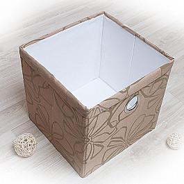 Кофры для хранения вещей Декоративная корзинка Доротея-3, большая, коричневый корзинка для хранения garden rattan