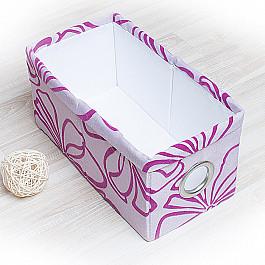 Кофры для хранения вещей Декоративная корзинка Доротея-6, малая, сиреневый корзинка для хранения garden rattan