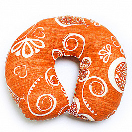 Декоративная подушка Нивасан Подушка под шею Ассорти-8, темно-салатовый декоративная подушка нивасан декоративная подушка мишка салатовый