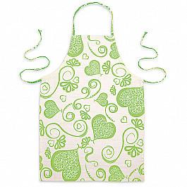 Фартуки Фартук Амур-3, позитив, зеленый рукавицы прихватки фартуки karna фартук с салфеткой ainslie цвет зеленый
