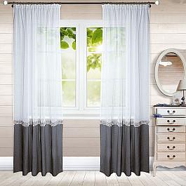 Шторы для комнаты ШтораНаДом Шторы Гарсия-8, серый ailooge серый 8