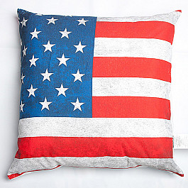 Декоративная подушка Нивасан Подушка декоративная Вояж, Америка туртранс вояж