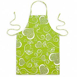 Фартуки Фартук Амур-3, темно-зеленый рукавицы прихватки фартуки karna фартук с салфеткой ainslie цвет зеленый