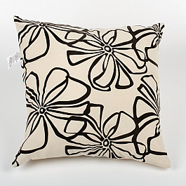 Декоративная подушка Нивасан Подушка декоративная Грация-1, молочный bloomingville декоративная подушка diamond