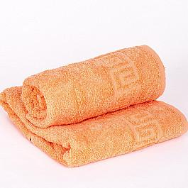 Полотенца Ашхабад Полотенце махровое Арк Ашхабад греческий бордюр, оранжевый, 40*70 см полотенца valentini полотенце sea цвет оранжевый набор