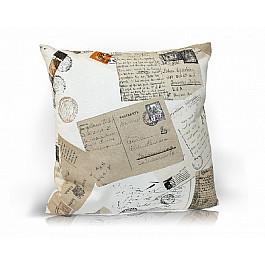 Декоративная подушка Kauffort Подушка декоративная Postcard, бежевый bloomingville декоративная подушка diamond
