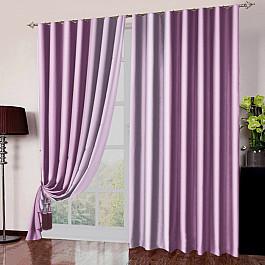 Шторы для комнаты РеалТекс Комплект портьер №026 Розовый шторы реалтекс шторы с ламбрекеном радость цвет розовый