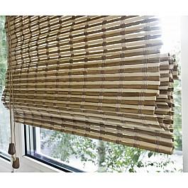 Римские шторы Эскар Римская штора Бамбук Микс, ширина 160 см римская штора эскар цвет бежевый ширина 100 см высота 160 см