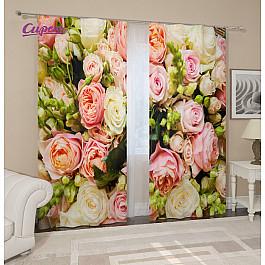 Фотоштора Сирень Фотошторы Букет француских роз ювелирные шармы bunny шарм подвеска букет золотых роз
