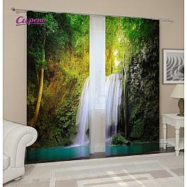 Фотоштора Сирень Фотошторы Водопад для двоих вейксерф для двоих