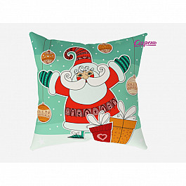 "Декоративная подушка ""Веселый Санта"""