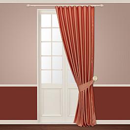 Шторы для комнаты Sanpa Шторы Шания, светло-коралловый, 180*260 см шторы sanpa классические шторы миа цвет светло серый