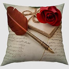 """Декоративная подушка """"Любовное письмо"""""""