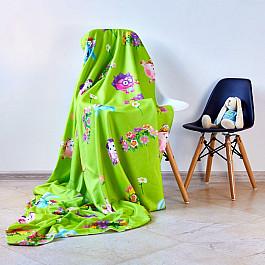Плед Сирень Фотоплед флисовый Смешарики летом, 130*150 см детский плед флисовый swaddledesigns флисовый stroller blanket bkpuppytooth sd 194bk
