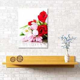 Сирень Картина  Спящие тюльпаны, 40*60 см цена