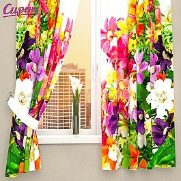 Фотоштора Сирень Фотошторы для кухни Весенние полевые цветы фотоштора сирень фотошторы для кухни весенние полевые цветы