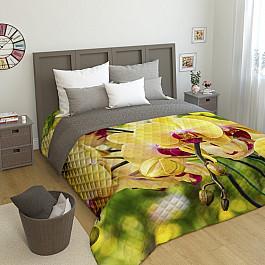 Фотопокрывало Сирень Стеганое фотопокрывало Желтая орхидея, 200*220 см еж стайл линейка color animals желтая утка 18 5 см