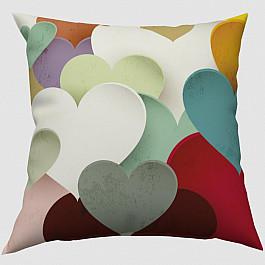 Фотоподушка Сирень Декоративная подушка блэкаут Современная любовь современная любовь