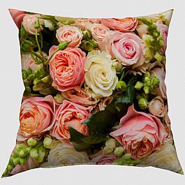 Фотоподушка Сирень Декоративная подушка блэкаут Букет французских роз ювелирные шармы bunny шарм подвеска букет золотых роз