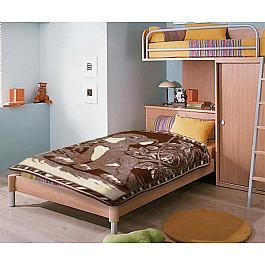 """Одеяло детское """"Симба"""", коричневый, 100*140 см"""