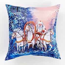 Фотоподушка Сирень Декоративная подушка сатен Дед мороз наклейка декоративная на сткело дед мороз 2 вида 25 33 см пвх