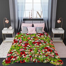 Фотопокрывало Стильный дом Стеганое фотопокрывало Стильный дом Узор и цветы, 200*220 см шторы море солнце и цветы стильный дом