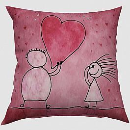 """Декоративная подушка """"Мое сердце для тебя"""""""