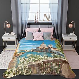 Фотопокрывало Стильный дом Стеганое фотопокрывало Стильный дом Море, солнце и цветы, 200*220 см шторы море солнце и цветы стильный дом