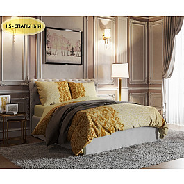 Постельное белье Стильный дом КПБ Делишес (1.5 спальный) яблоки голден делишес упаковка