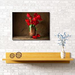 Сирень Картина Яркие тюльпаны, 60*40 см цена