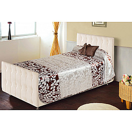 Покрывало Нивасан Покрывало Сиеста - 150 - 2, коричневый спальня сиеста