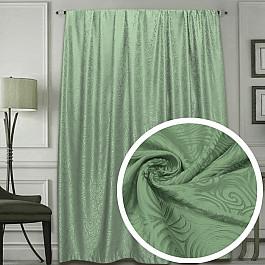 Шторы для комнаты Amore Mio Шторы RR MUZI-09-0811Y, зеленый, 200*270 см цена