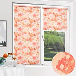 Шторы рулонные ролло Уют Рулонная штора ролло Пионы, розовый, 140 см настенные часы art time ntr 3812