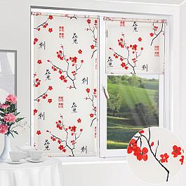 Шторы рулонные ролло Уют Рулонная штора ролло Япония, белый, 160 см уют 100х175 япония белый