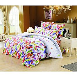 Постельное белье Valtery КПБ сатин печатный C-236 (1.5 спальный) постельное белье valtery кпб сатин печатный c 236 1 5 спальный