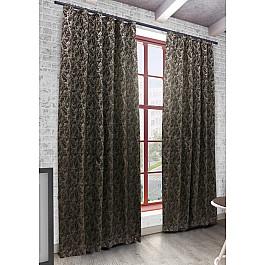 Шторы для комнаты Sanpa Шторы Ванесса, коричневый, 200*270 см шторы sanpa sanpa mp002xu0dxb2