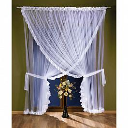 Шторы для комнаты Wisan Комплект штор №5773, белый цена