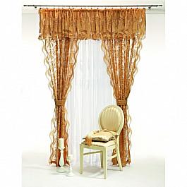 Шторы для комнаты Wisan Комплект штор №5992, коричневый комплект штор wisan цвет коричневый высота 250 см 030w