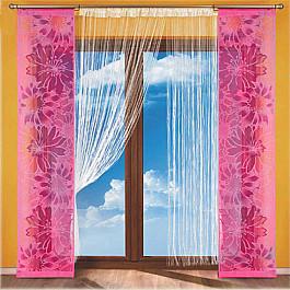 Японские панели Японская штора однотонная №112A-02, розовый японская косметика forlled
