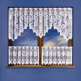 Шторы для кухни Wisan Комплект штор для кухни №3325, белый