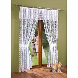 Шторы для комнаты Wisan Комплект штор Алена №3360, белый алена весная шанс