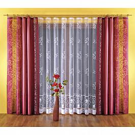 Шторы для комнаты Wisan Комплект штор №5765-02, бордовый цена