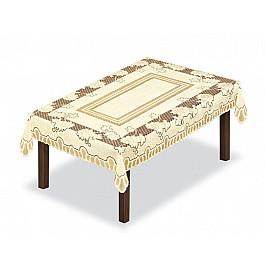 Скатерти Haft Скатерть Siena, кремовый, 130*180 см скатерть haft овальная цвет кремовый золотистый 145 x 95 см 226561