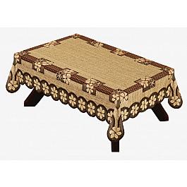 Скатерти Haft Скатерть Haft №38790/100, оранжево-коричневый, 100*150 см все цены