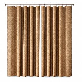 Шторы для комнаты Wisan Комплект штор Primavera №1110051, коричневый комплект штор wisan цвет коричневый высота 250 см 030w