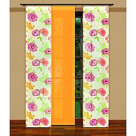 Японские панели Японская штора №202240/50, желтый японская косметика forlled