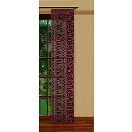цена Японские панели Японская штора №207350/50, темно-коричневый онлайн в 2017 году
