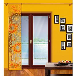 Японские панели Японская штора №112А, оранжевый японская косметика косе